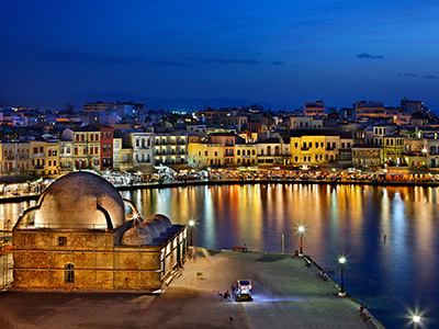 Old Venetian Harbour Chania